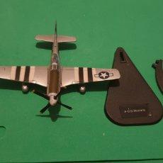 Modelos a escala: AVIÓN AVIONETA P - 51D MUSTANG USA ALTAYA METALICO ESCALA 1/72. Lote 195154742