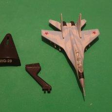 Modelos a escala: AVIÓN MIG - 29 RUSO METALICO ESCALA 1/72. Lote 195154806
