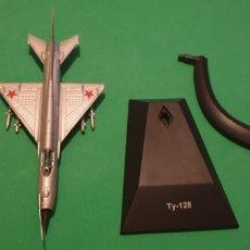Modelos a escala: AVIÓN TY- 128 RUSO METALICO ESCALA 1/72. Lote 195154921