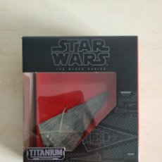 Modelos a escala: STAR WARS STAR DESTROYER TITANIUM THE BLACK SERIES BLISTER SIN ABRIR HASBRO. Lote 195196467