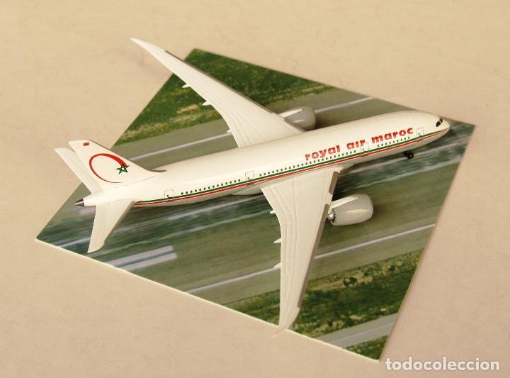 DRAGON WINGS 1:400 • BOEING 787-8 ROYAL AIR MAROC • METÁLICO 1/400 (Juguetes - Modelos a escala)