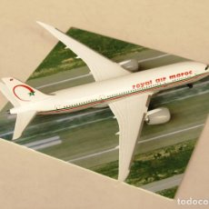 Modelos a escala: DRAGON WINGS 1:400 • BOEING 787-8 AIR MAROC • METÁLICO 1/400. Lote 195247155