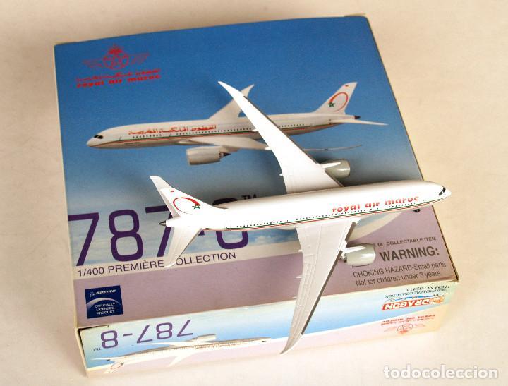 Modelos a escala: DRAGON Wings 1:400 • BOEING 787-8 Royal Air Maroc • Metálico 1/400 - Foto 2 - 195247155