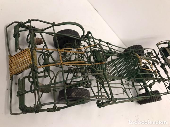 Modelos a escala: Antiguo coche de carreras hecho a mano años 70 - Foto 2 - 195307393