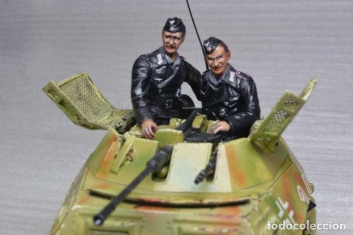 Modelos a escala: Modelo a escala 1/35 único montado y pintado -SdKfz 250/9 23th PanzerDivision Segunda Guerra Mundial - Foto 2 - 195330881