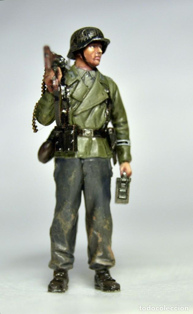 Modelos a escala: Figuras a escala 1/35 UNICAS Montadas y pintadas de soldados alemanes. Segunda Guerra Mundial - Foto 2 - 195331748