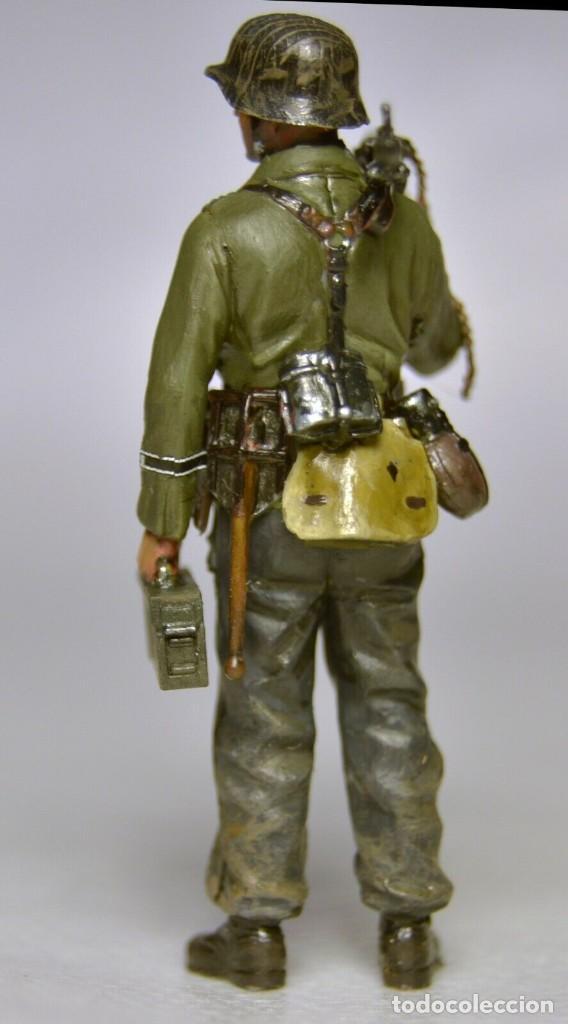 Modelos a escala: Figuras a escala 1/35 UNICAS Montadas y pintadas de soldados alemanes. Segunda Guerra Mundial - Foto 7 - 195331748