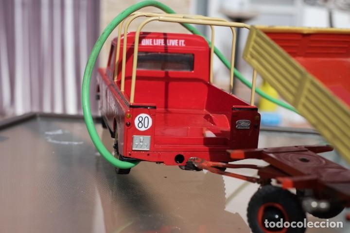 Modelos a escala: Rico Land Rover con remolque basculante marca Rico - Foto 5 - 195336842