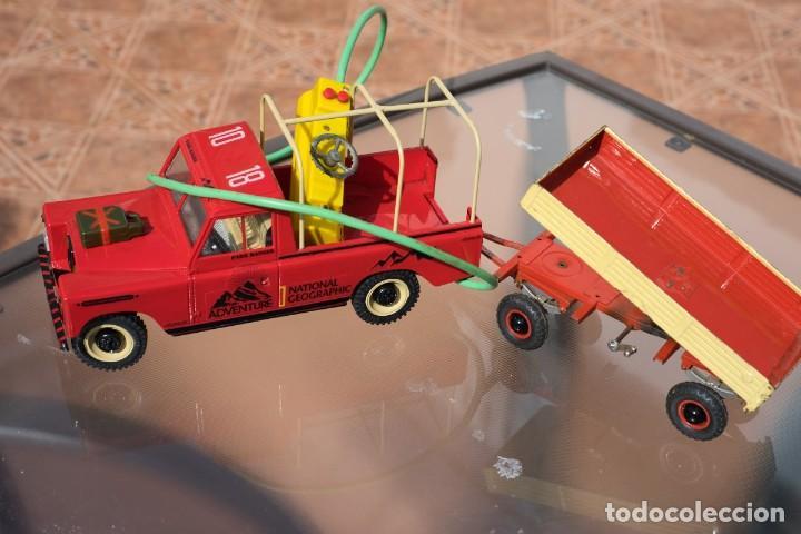 Modelos a escala: Rico Land Rover con remolque basculante marca Rico - Foto 60 - 195336842