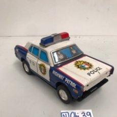 Modelos a escala: ANTIGUO COCHE DE POLICÍA PATROL. Lote 195983866
