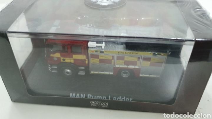 Modelos a escala: Camión de bomberos MAN Pump Ladder. - Foto 4 - 196797722