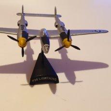 Modelos a escala: AVION DE METAL P38 LIGHTNING COLECCIÓN DEL PRADO. Lote 198254385