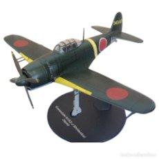 Modelos a escala: KAWANISHI N1K2-J SHIDENKAI JAPAN WWII 1:72 AVION DIECAST ALTAYA #3. Lote 210609473