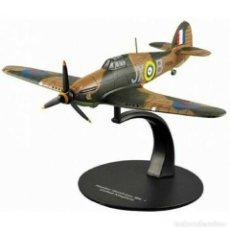 Modelos em escala: HAWKER HURRICANE MKI U.K. WWII 1:72 AVION DIECAST ALTAYA #24. Lote 199377783