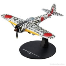 Modelos em escala: NAKAJIMA KI-43 II HAYABUSA JAPAN WWII 1:72 AVION DIECAST ALTAYA #19. Lote 199377786