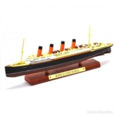 Modelli in scala: RMS LUSITANIA TRANSATLANTICO 1:1250 OCEAN LINERS BARCO ATLAS DIECAST. Lote 215020915