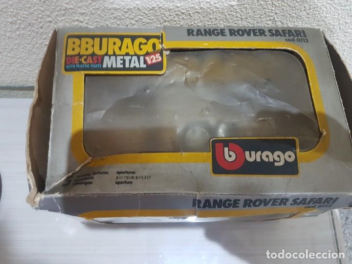 Modelos a escala: BURAGO RANGE ROVER SAFARI - Foto 6 - 200391307