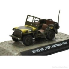 Modelli in scala: 1/43 WILLYS MB JEEP AUSTRALIA 1942 WWII ATLAS DIECAST. Lote 202530707
