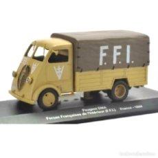 Modèles réduits: PEUGEOT DMA FRANCE 1944 WWII CAMION TRUCK 1:43 EAGLEMOSS. Lote 202605137