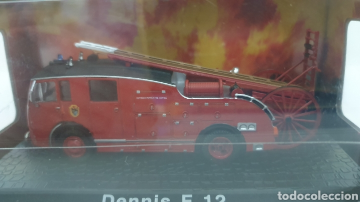 Modelos a escala: Camión de bomberos Dennis F12. - Foto 4 - 202694477