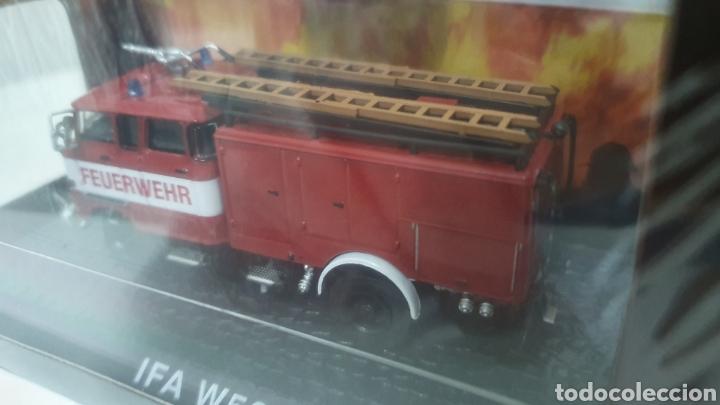 Modelos a escala: Camión de bomberos IFA W50. - Foto 3 - 202695042