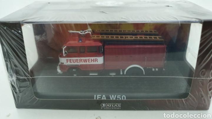 CAMIÓN DE BOMBEROS IFA W50. (Juguetes - Modelos a escala)