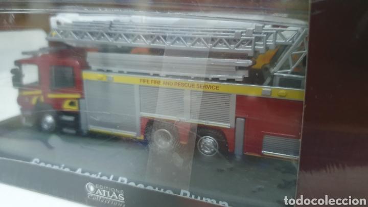 Modelos a escala: Camión de bomberos Scania Aerial. - Foto 3 - 202695701