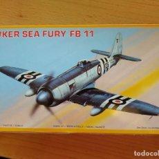 Modelli in scala: MAQUETA PM ESCALA 1/72 DEL CAZA NAVAL HAWKER SEA FURY FB-11. Lote 204178503