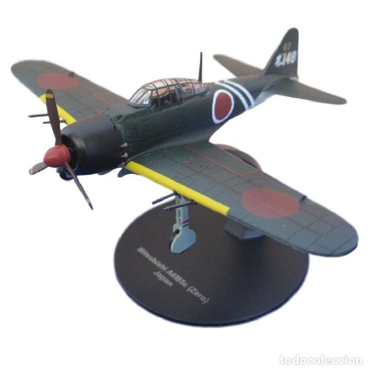 MITSUBISHI A6M5C ZERO JAPAN WWII 1:72 AVION DIECAST ALTAYA #6 (Juguetes - Modelos a escala)