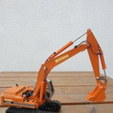 Modelos em escala: EXCAVADORA HITACHI LANDY EX 200. MADE IN JAPAN. SINSHEI.. Lote 205015467