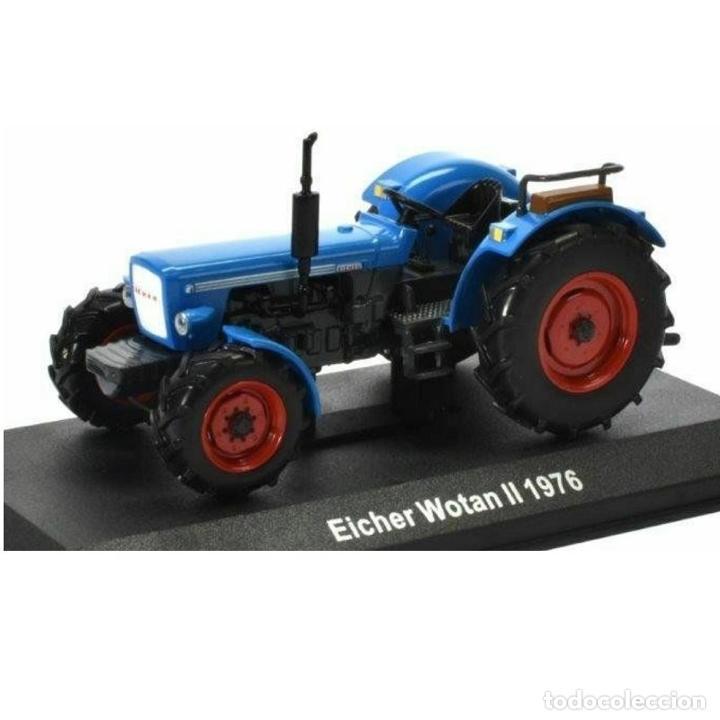 EICHER WOTAN II 1976 1:43 TRACTOR AGRICOLA UH HACHETTE DIECAST (Juguetes - Modelos a escala)