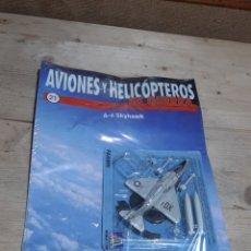 Modelli in scala: AVION DE COMBATE FABRI AVIONES Y HELICOPTEROS DE GUERRA MODELO A-4 SKYHAWK NUMERO 21. Lote 206229228