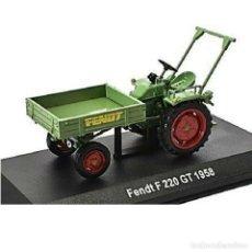 Modèles réduits: FENDT F 220 GT 1958 1:43 TRACTOR AGRICOLA UH HACHETTE DIECAST. Lote 207347991