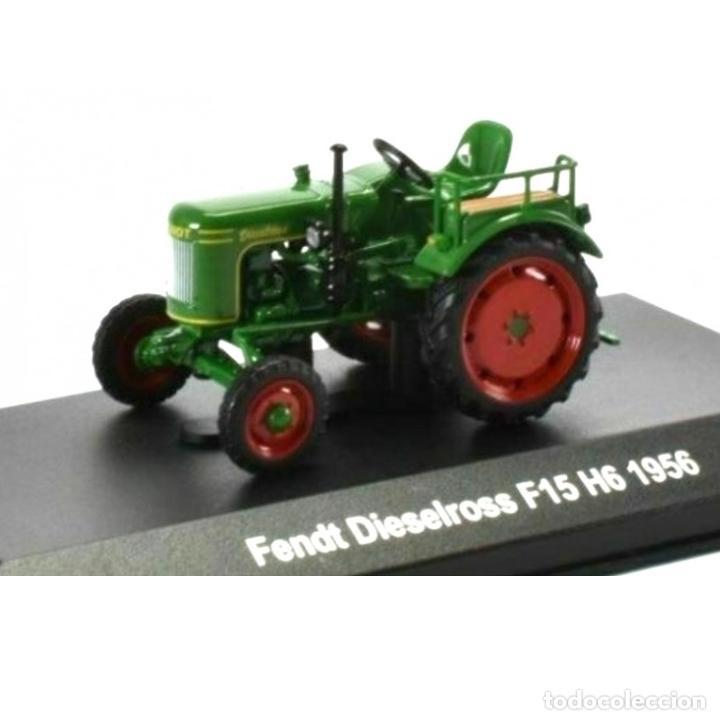 FENDT DIESELROSS F15 H6 1956 1:43 TRACTOR AGRICOLA UH HACHETTE DIECAST (Juguetes - Modelos a escala)