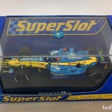 Modelos a escala: SUPERSLOT.F1 RENAULT ORIGINAL. FERNANDO ALONSO. ESCALA 1:32. Lote 261641730