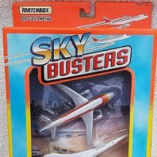 Modelos a escala: 1996 MATCHBOX SKYBUSTERS 67135 - AIRBUS A300 IBERIA - CONCORDE AIR FRANCE - HIDROAVIÓN FORESTAL. Lote 208661418