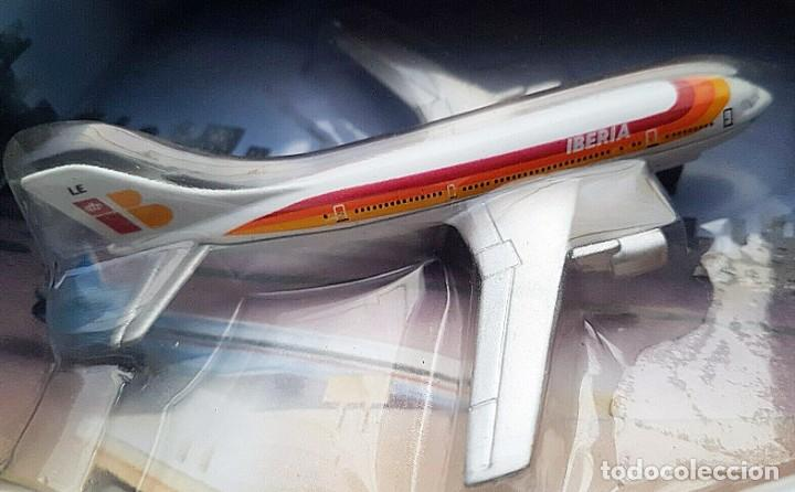 Modelos a escala: 1996 MATCHBOX SKYBUSTERS 67135 - AIRBUS A300 IBERIA - CONCORDE AIR FRANCE - HIDROAVIÓN FORESTAL - Foto 3 - 208661418