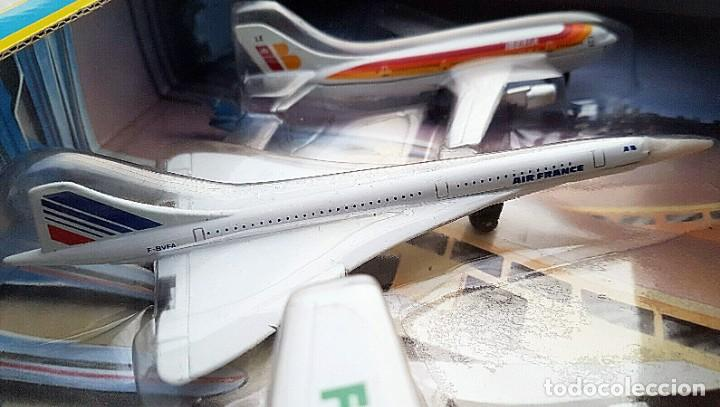 Modelos a escala: 1996 MATCHBOX SKYBUSTERS 67135 - AIRBUS A300 IBERIA - CONCORDE AIR FRANCE - HIDROAVIÓN FORESTAL - Foto 4 - 208661418
