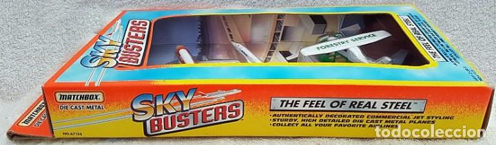 Modelos a escala: 1996 MATCHBOX SKYBUSTERS 67135 - AIRBUS A300 IBERIA - CONCORDE AIR FRANCE - HIDROAVIÓN FORESTAL - Foto 6 - 208661418