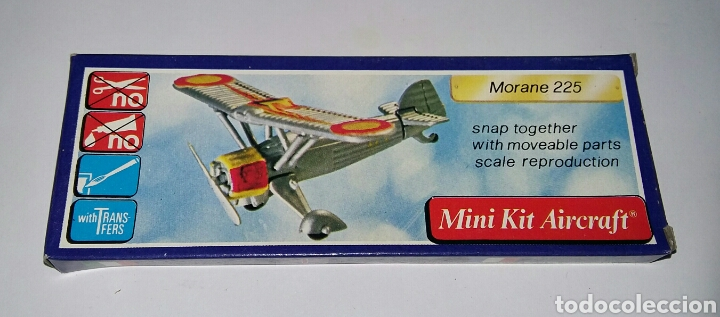 Modelos a escala: LOTE 7 AVIONES MINIATURA. KLIC WORLD. NUEVOS EN CAJA. MINI KIT AIRCRAFT. PLASTIC MODEL KIT. - Foto 5 - 209879658