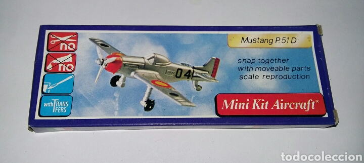 Modelos a escala: LOTE 7 AVIONES MINIATURA. KLIC WORLD. NUEVOS EN CAJA. MINI KIT AIRCRAFT. PLASTIC MODEL KIT. - Foto 6 - 209879658
