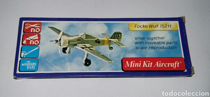 Modelos a escala: LOTE 7 AVIONES MINIATURA. KLIC WORLD. NUEVOS EN CAJA. MINI KIT AIRCRAFT. PLASTIC MODEL KIT. - Foto 8 - 209879658