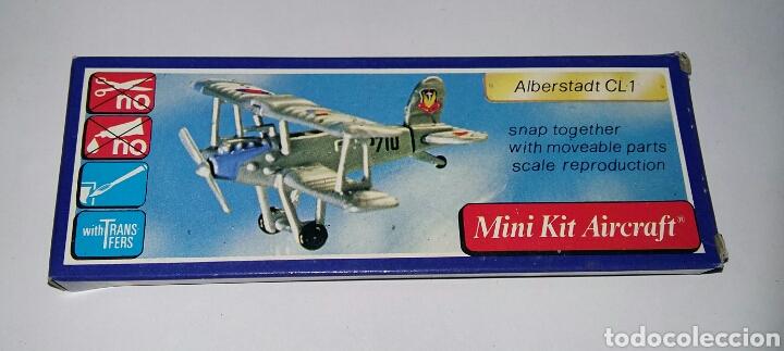 Modelos a escala: LOTE 7 AVIONES MINIATURA. KLIC WORLD. NUEVOS EN CAJA. MINI KIT AIRCRAFT. PLASTIC MODEL KIT. - Foto 9 - 209879658