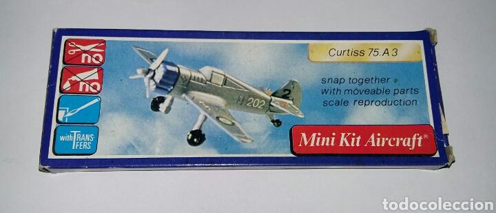 Modelos a escala: LOTE 7 AVIONES MINIATURA. KLIC WORLD. NUEVOS EN CAJA. MINI KIT AIRCRAFT. PLASTIC MODEL KIT. - Foto 10 - 209879658