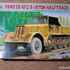Modelos a escala: MAQUETA DE FAMIO SD. KFZ.9 DE TRUMPETER 1/72. Lote 210030005