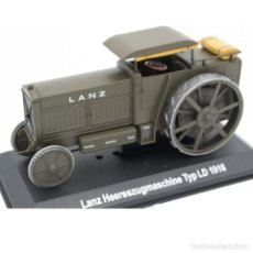 Modelos a escala: LANZ HEERESZUGMASCHINE TYP LD 1916 1:43 TRACTOR AGRICOLA UH HACHETTE DIECAST. Lote 278576483