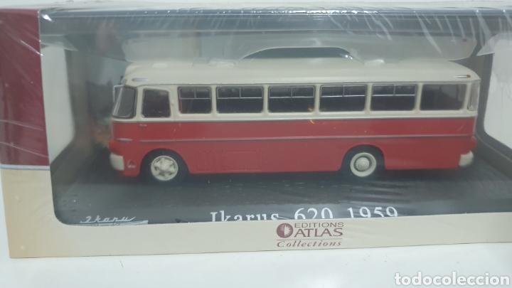 AUTOBÚS IKARUS 620 DE 1959. (Juguetes - Modelos a escala)