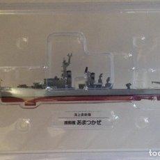 Modelos a escala: JAPAN SELF- DEFENSE FORCES Nº 27: DESTRUCTOR JDS AMATSUKAZE (DDG-163) - 1/900 * DEAGOSTINI *. Lote 214420962
