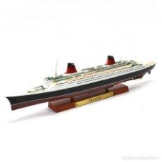 Modelli in scala: SS FRANCE TRANSATLÁNTICO 1:1250 OCEAN LINERS BARCO ATLAS DIECAST. Lote 224428570