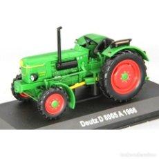 Modèles réduits: DEUTZ D 8005 A 1966 1:43 TRACTOR AGRICOLA UH HACHETTE DIECAST. Lote 215306958